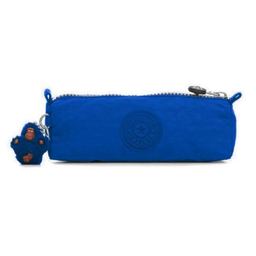 KIPLING 輕量尼龍拉鍊鉛筆盒-法國藍(現貨+預購)
