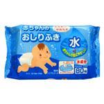 【WAVA】日本KYOWA [無酒精/香料]寶寶臀部濕紙巾80枚