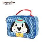 【Babytiger虎兒寶】coqenpate 法國有機棉無毒環保布包- 方方兒拎出門 - 狗狗