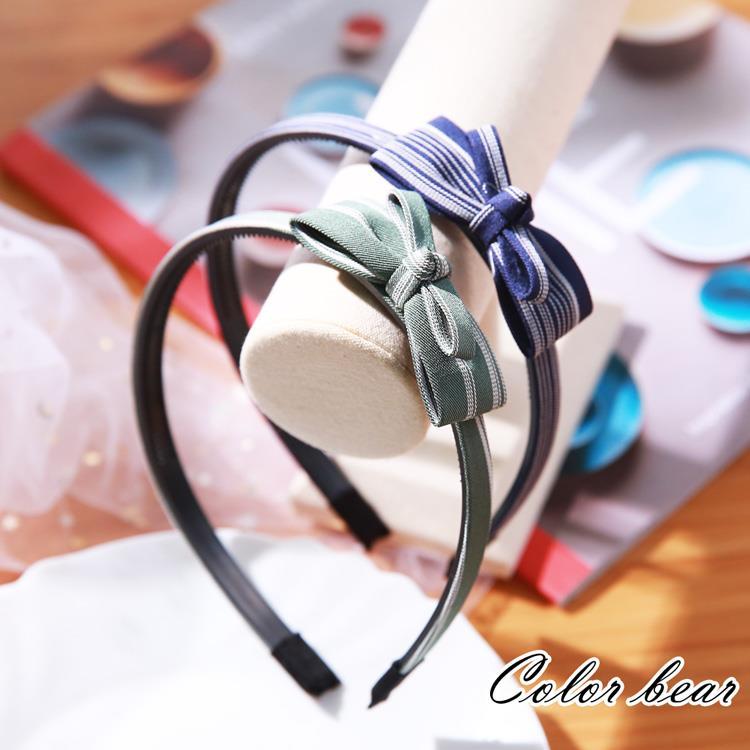 【卡樂熊】氣質文藝少女造型髮箍(兩色)