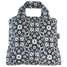 ENVIROSAX 澳洲環保購物袋 | Etonico 黑白經典 花磚