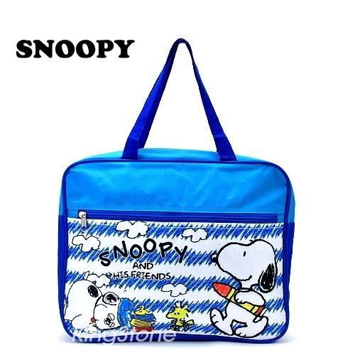 Snoopy【天才小畫家】尼龍手提袋