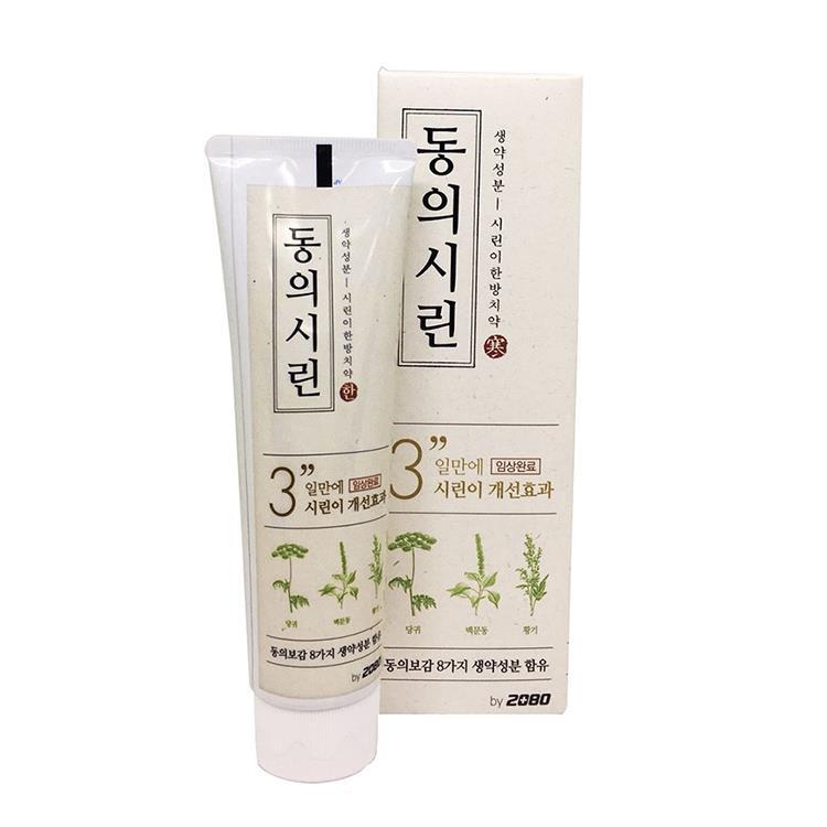 【韓國2080】草本護齦牙膏-酸冷抗敏120gX2入