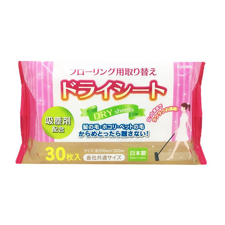 【WAVA】日本KYOWA地板擦替換吸塵紙30枚