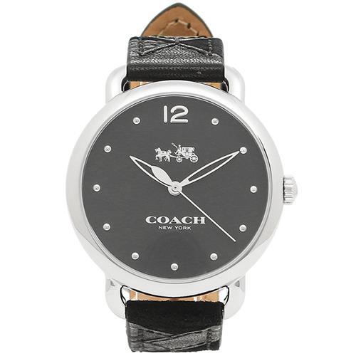 COACH 經典馬車優雅皮革手錶(現貨+預購)
