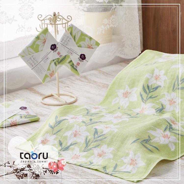 taoru【日本居家長毛巾】和的風物詩_朝露