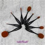 【Macrilan 瑪可麗蘭】時尚俏麗專業化妝刷具全套組B40A