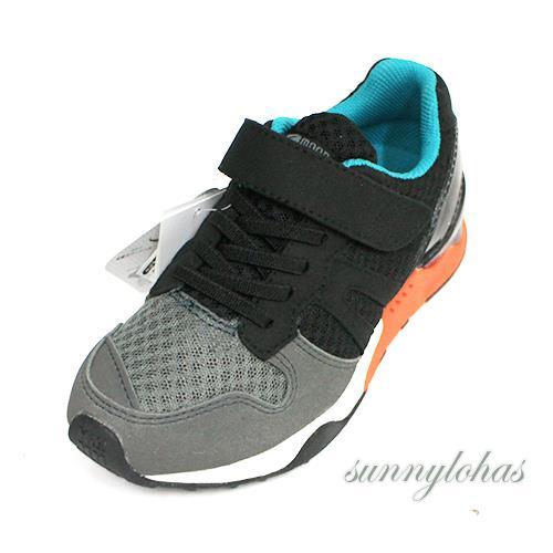 【MOONSTAR月星】日本頂級 機能童鞋 運動鞋 2E寬楦頭設計 -MSC22076 灰黑