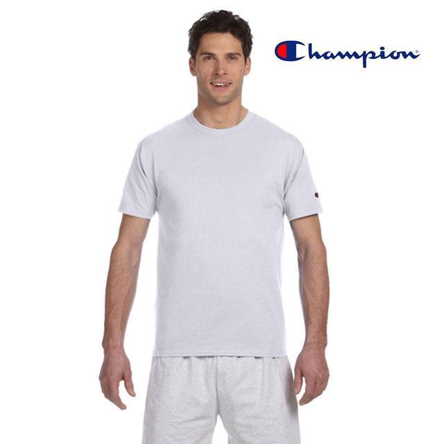 Champion T425 美規高磅數純棉T恤-白色S