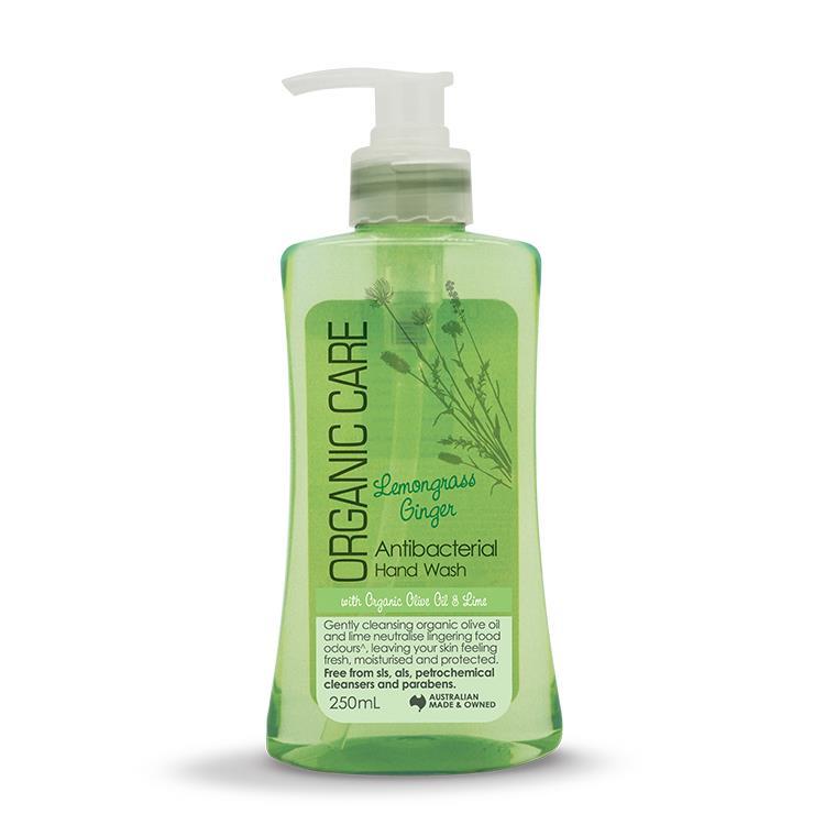 【澳洲Natures Organics】植粹健康洗手乳(生薑檸檬草)250ml