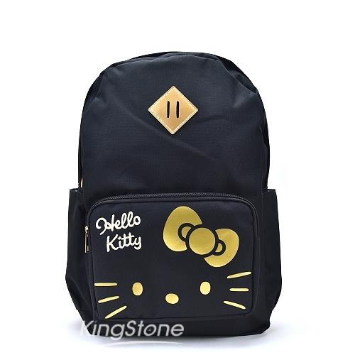 SANRIO【Hello Kitty】耀金後背包