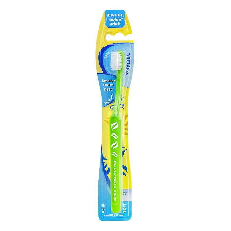 【瑞典Ekulf伊卡】成人用牙刷