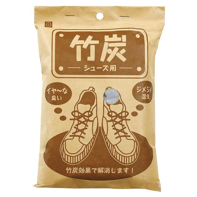 日本-小久保 鞋用竹炭除濕消臭包100gX2入