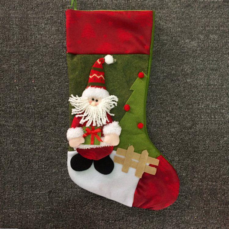 聖誕禮物襪-聖誕老人