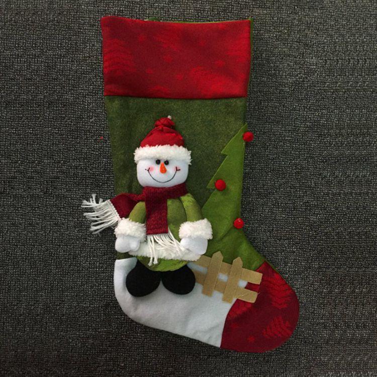 聖誕禮物襪-雪人