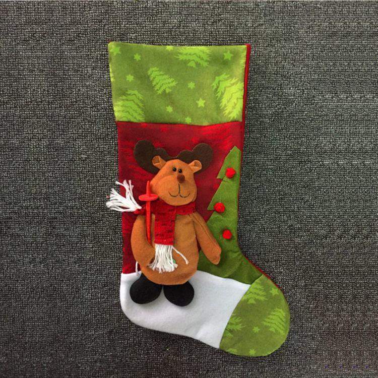 聖誕禮物襪-糜鹿