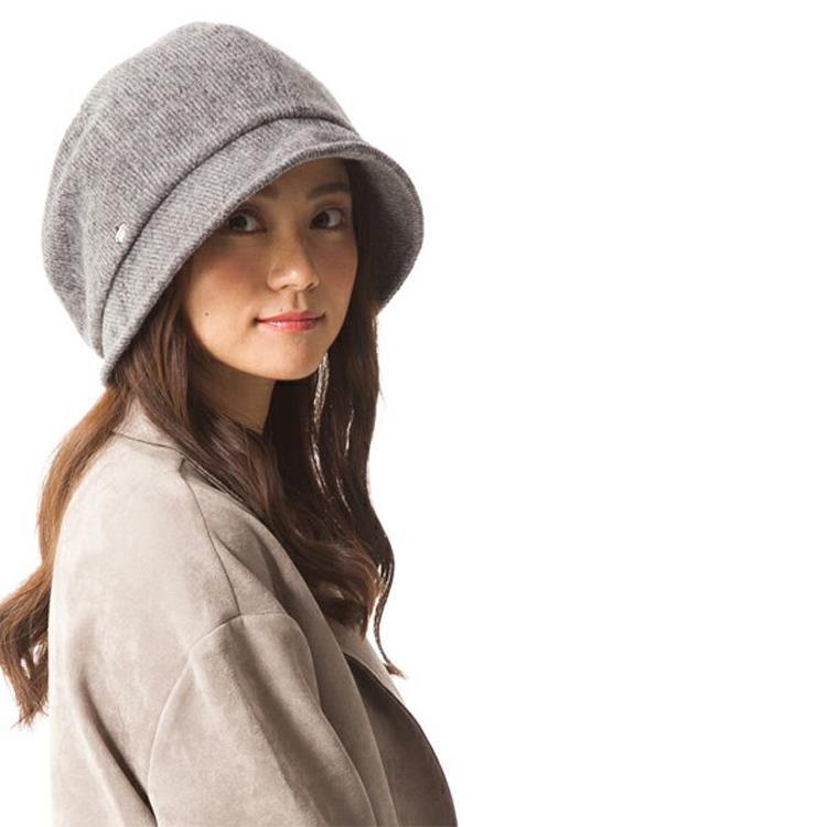 日本 QUEENHEND 抗寒保暖抗UV小顏帽秋冬款9004灰色