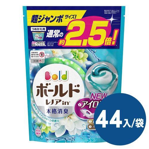 【日本境內 P&G】Bold洗衣凝膠球44入袋(桂花清香)*4袋