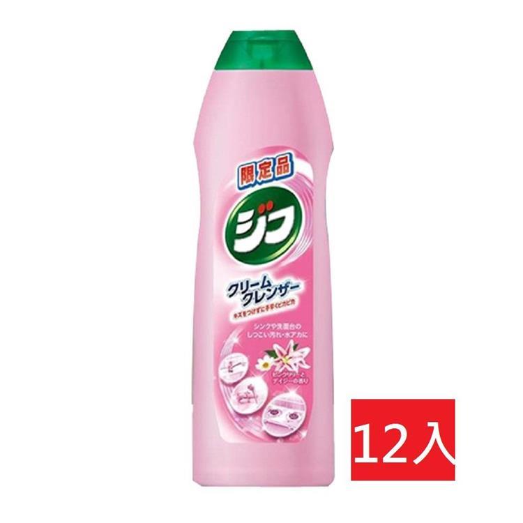 日本強力萬用清潔乳270ml-花香x12入