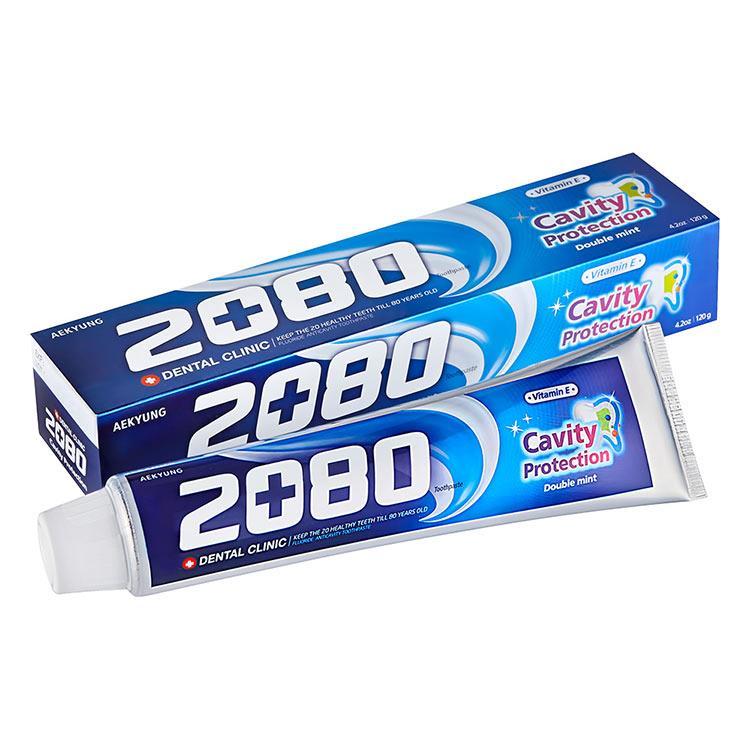 【韓國2080】防蛀護齦牙膏80gX2入