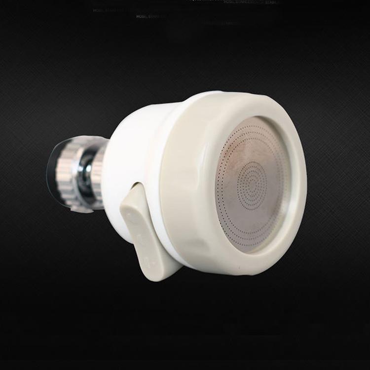 ABS 360度旋轉白色節水器