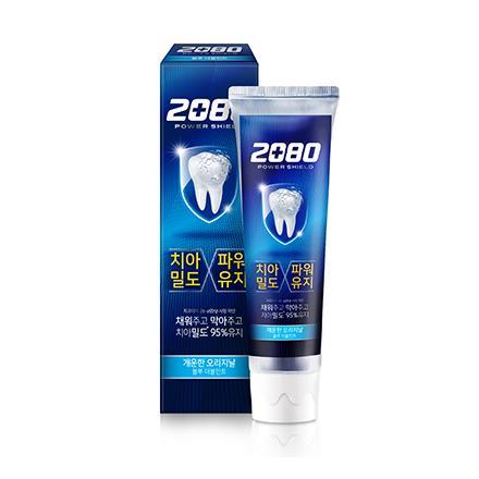 【韓國2080】強盾牙齒保健牙膏(雙重薄荷)藍120gX2入