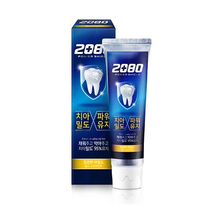 【韓國2080】強盾牙齒保健牙膏(潔淨薄荷)金120gX2入