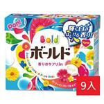 日本P&G花卉皂香洗衣粉850gx9入(新舊包裝隨機出貨)