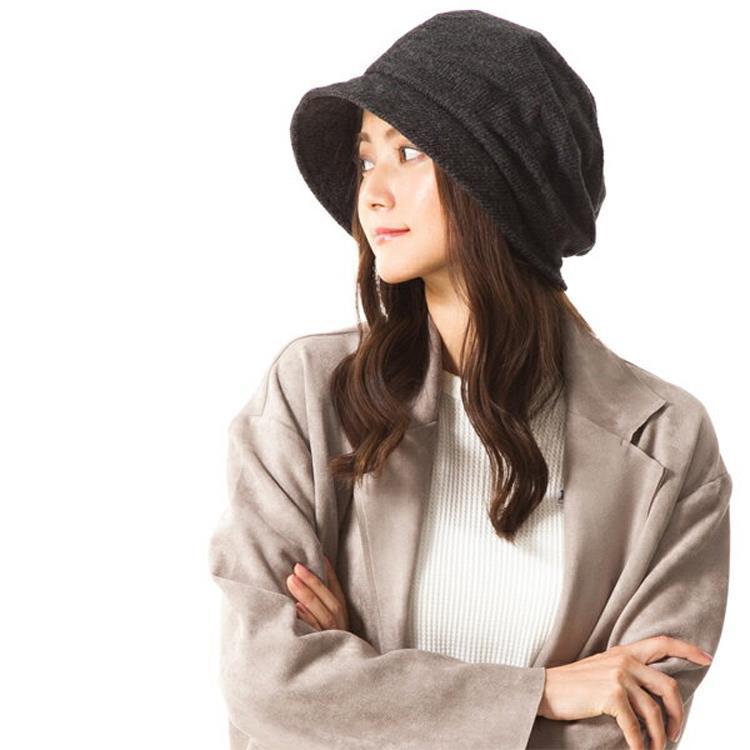 日本 QUEENHEND 抗寒保暖抗UV小顏帽秋冬款9004黑色