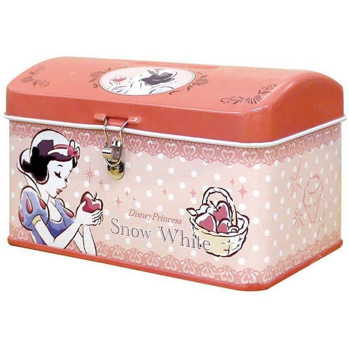 【大國屋】DISNEY公主系列存錢筒附鎖匙(白雪公主)