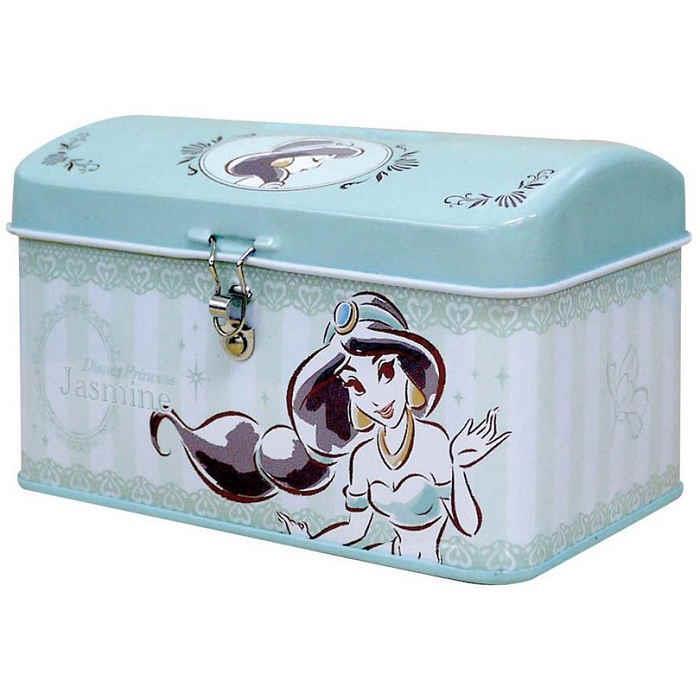 【大國屋】DISNEY公主系列存錢筒附鎖匙(茉莉公主)