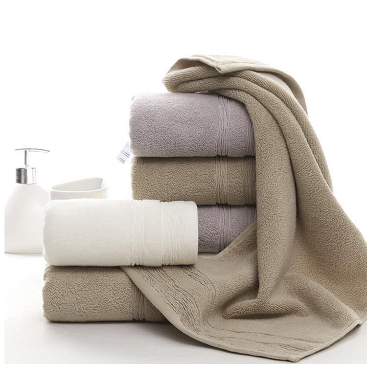 日系水波紋吸水純棉毛巾(3色1組)