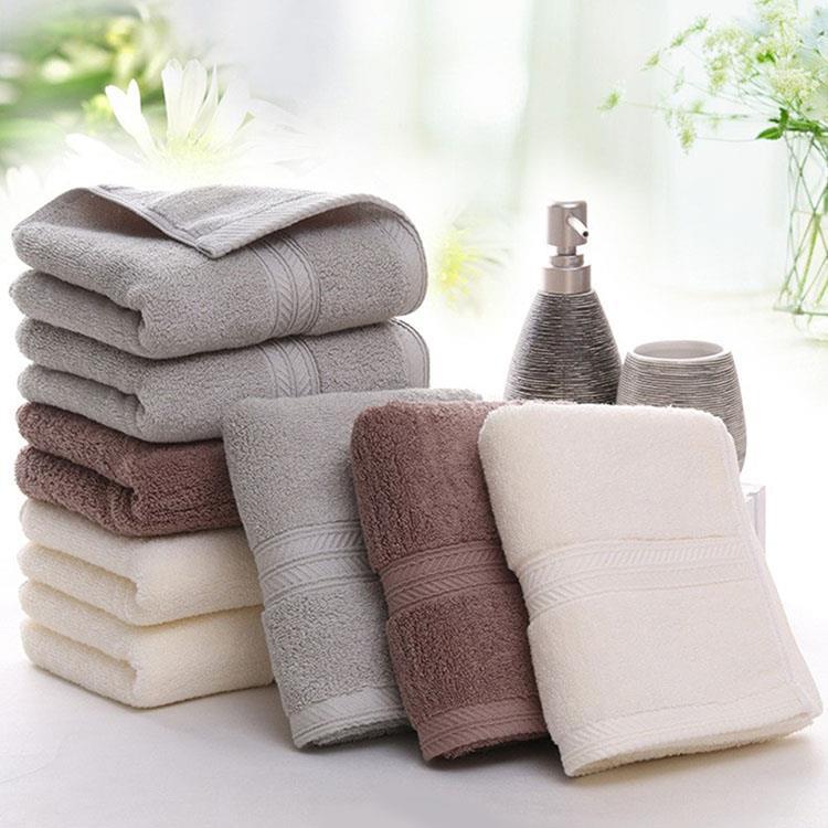 韓版厚膨長絨純棉毛巾(3色1組)
