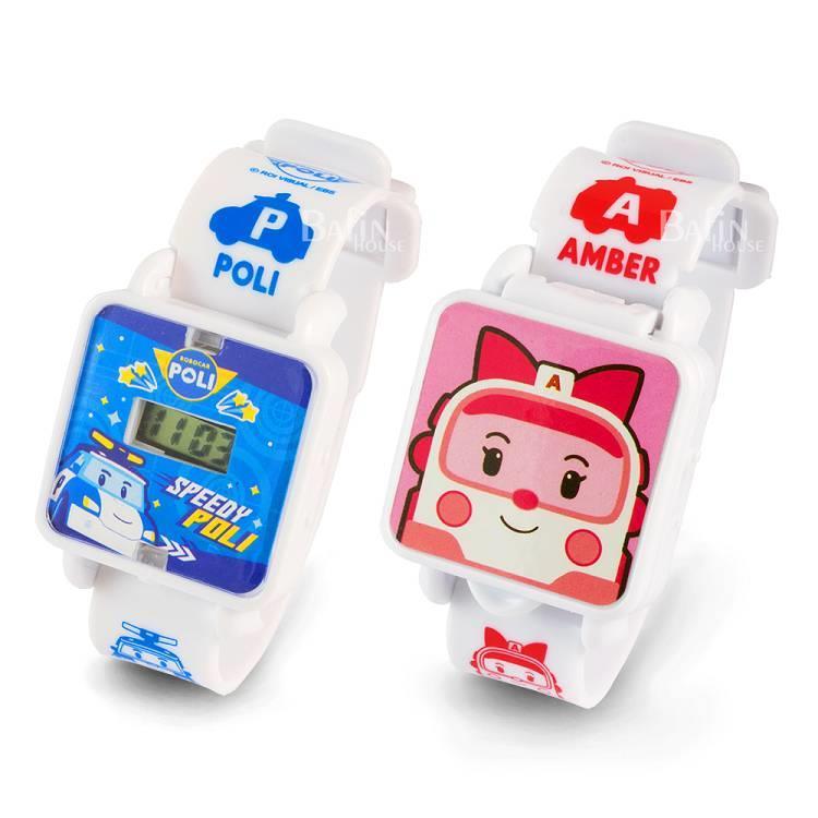 【POLI波力】百變可愛手錶**2入(波力+安寶)