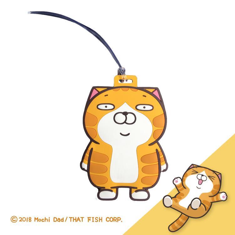 [Hello 生活館] 白爛貓造型票卡套