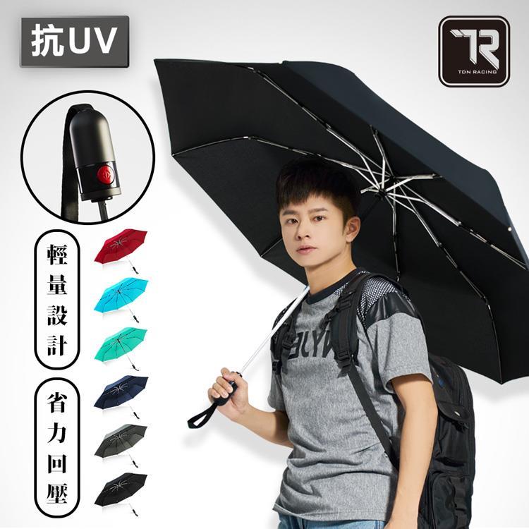 【雙龍牌】雙人大傘面。工學省力回壓超潑水自動開收傘B7549S