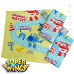 Super Wings柔棉印花童巾-12入