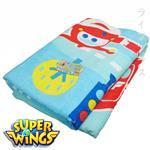 Super Wings柔棉印花浴巾-2入