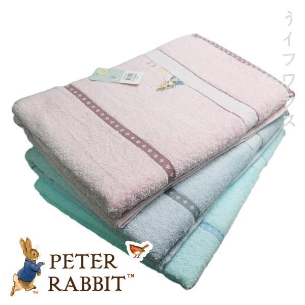 比得兔梳棉精繡浴巾-PR20111/PR20112/PR20113-BT-2入