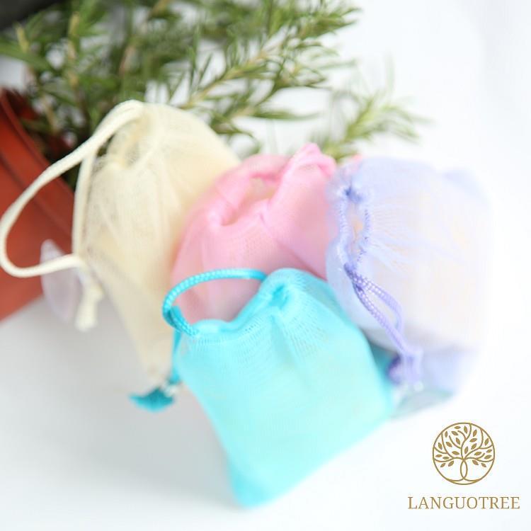 ︱蘭果樹LANGUOTREE︱手工皂起泡網袋/香皂袋2入