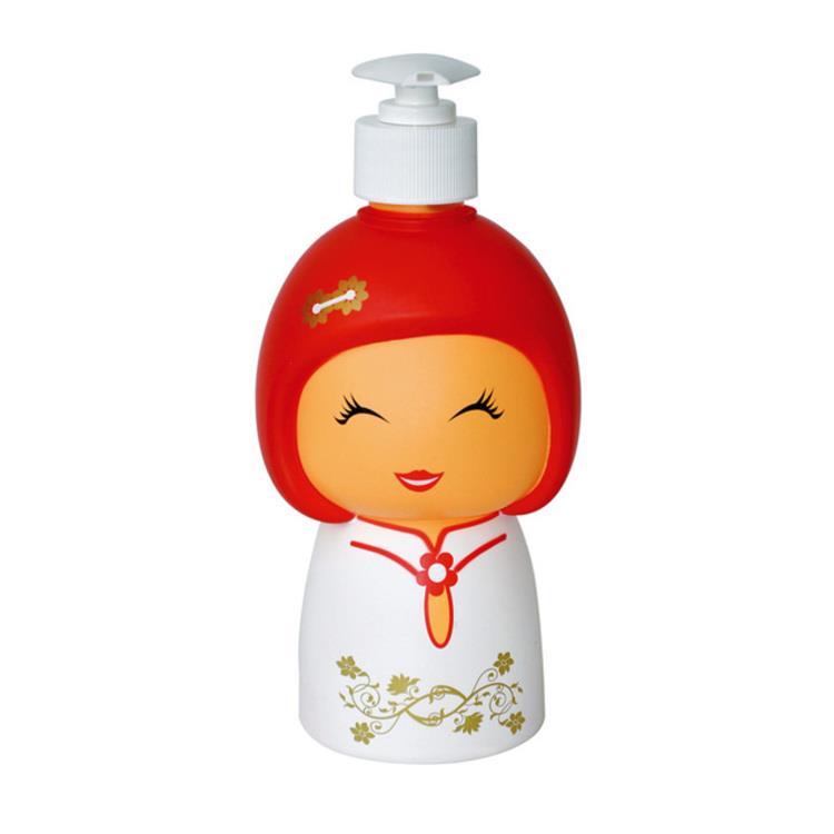 【義大利 e-my】娃娃造型擠皂器-白