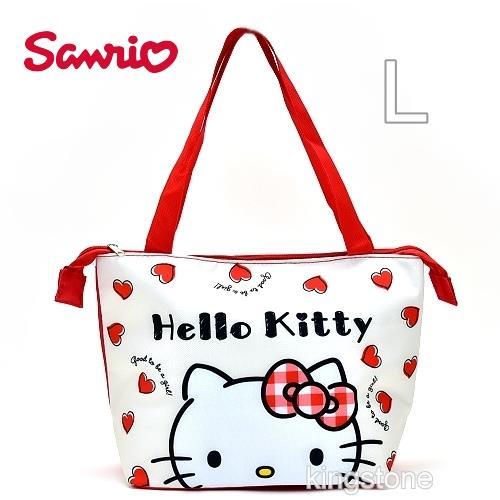 SANRIO【萌臉KITTY】保冷袋-大