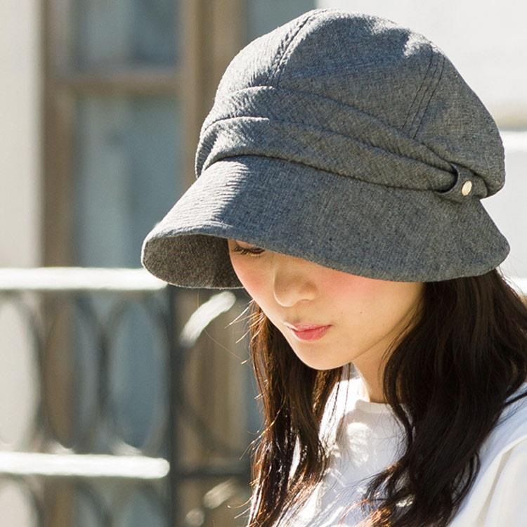 日本 QUEENHEAD  抗UV小顏時尚防曬帽8002灰色