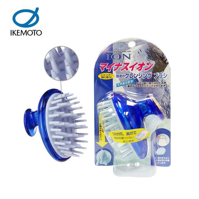 池本 ION 天然礦石 按摩洗髮梳 日本製 梳子 洗頭梳 負離子 IKEMOTO IC-60