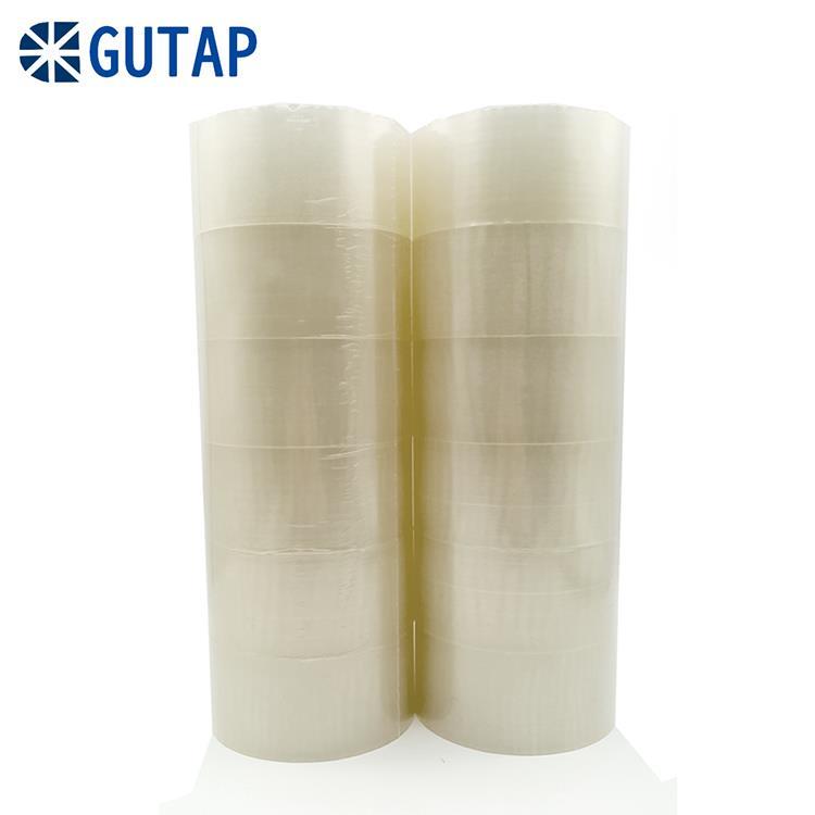 GUTAP地球牌固得OPP超透明膠帶48mmX90Y-12卷入 買就送兩入膠台