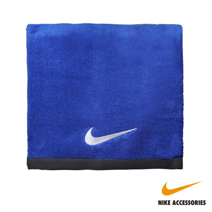 NIKE耐吉 FUNDAMENTAL TOWEL 大浴巾-藍色(60x120cm)