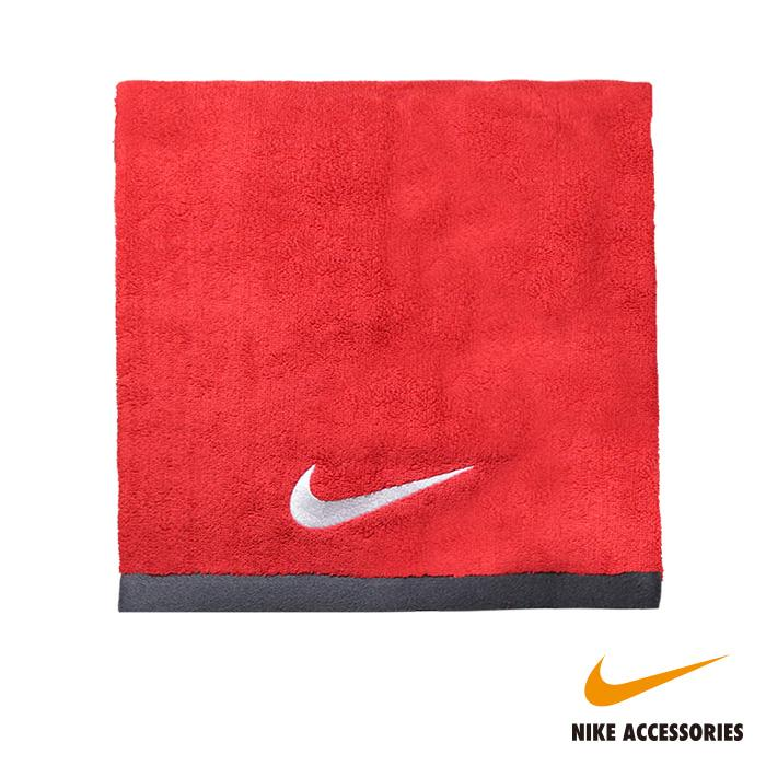 NIKE耐吉 FUNDAMENTAL TOWEL 大浴巾-紅色(60x120cm)