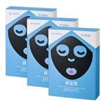 《台塑生醫》Dr's Formula極潤緊俏水娃娃黑面膜(7片/盒)*3盒入