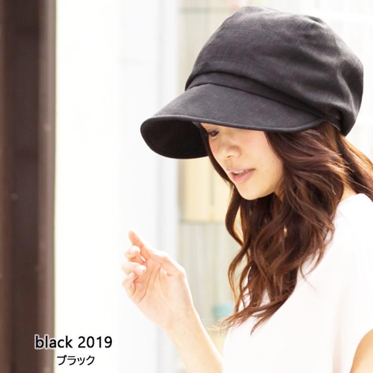 QUEENHEAD 日本抗UV帥氣小顏防曬帽022黑色