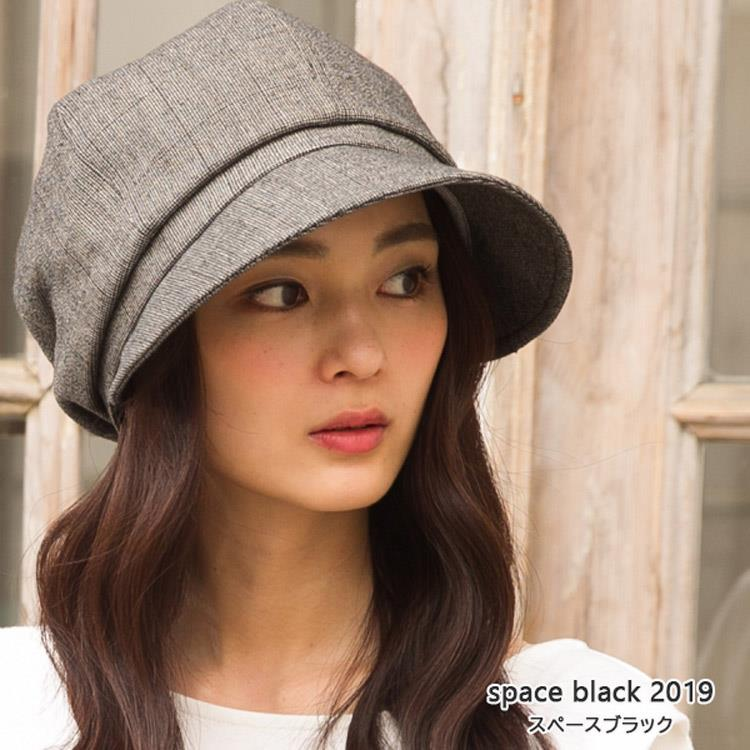 QUEENHEAD 日本抗UV帥氣小顏防曬帽022灰格色
